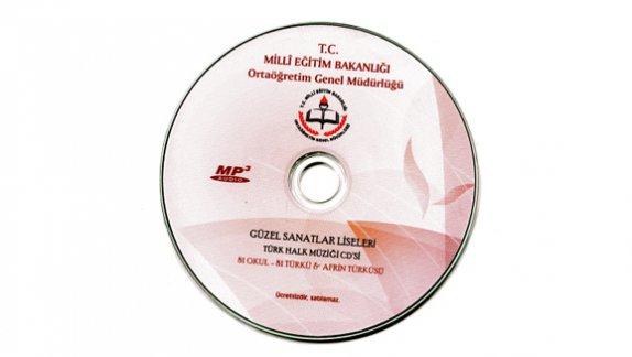 Güzel Sanatlar Liseleri Türk Halk Müziği CD'si Hazırlandı